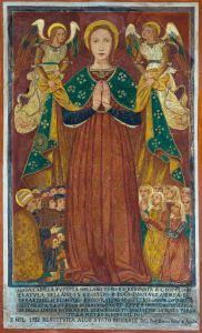 Affresco Madonna della Libera